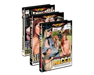 PACK 3 DVDS ROCCO SIGFREDI