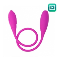 Vibrador Doble Pretty Love Snaky Vibe Rosa