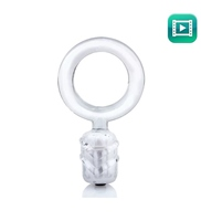 Anillo Vibrador Dongle Transparente