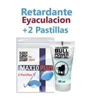 Max10 Plus ( 2 Pastillas ) + Retardarte